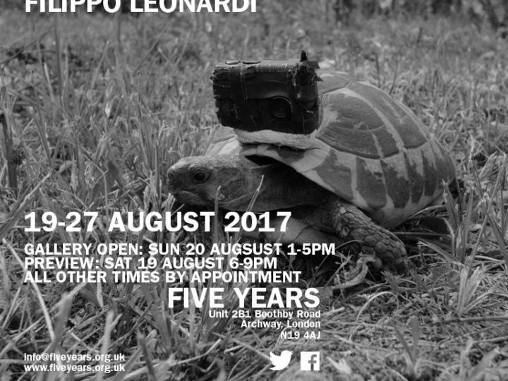 Filippo Leonardi in mostra da Five Years a Londra